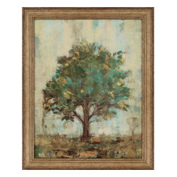 Paragon - Verdi Trees I - Framed Art - Each product is custom made upon order so there might be small variations from the picture displayed. No two pieces are exactly alike.