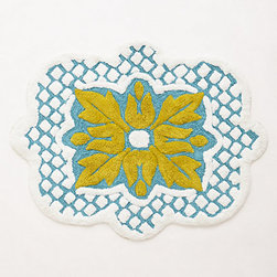 Amarga Bath Mat - Stepping out of the bath onto a pretty mat gives your day a refreshing start. Sometimes the simplest things can make the biggest difference.