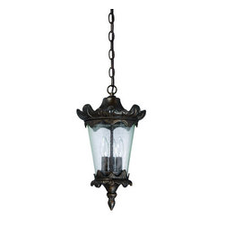 Craftmade - Craftmade Z7421 Kingston 3 Light Outdoor Mini Pendant - Features: