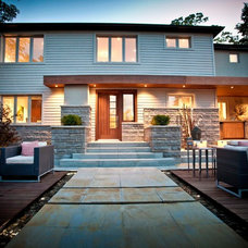 Contemporary reno on Heritage house