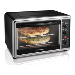 Hamilton Beach Countertop Oven With Convection & Rotisserie - Rachel Khoo's oven in Paris looks like a toy, yet she manages to cook up a storm in it. Try this countertop oven if you are short on space.