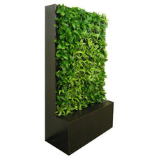 Contemporary Indoor Pots And Planters by GSky Living Green Wall Company