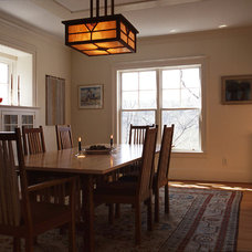 Craftsman Dining Room by Bennett Frank McCarthy Architects, Inc.