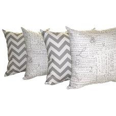 Farmhouse Decorative Pillows by Land of Pillows