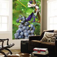 Vineyard Operated By Dynasty Winery Near Jixian, Tianjin Province, China Wall Mu