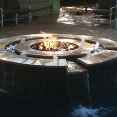 contemporary swimming pools and spas by CJ's Home Decor & Fireplaces