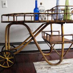 Bamboo bar cart - http://krrb.com/23541