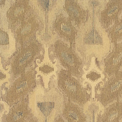 Oriental Weavers - anastasia java carpet (5x8) - The profoundly patterned anastasia collection of handmade, naturally dyed wool rugs are a modern take on traditional woven textile patterns. Featuring ikat inspired designs and natural colors, these carpets bring a sophisticated warmth and a timeless authenticity to the room.