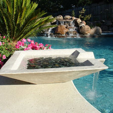 Modern Outdoor Fountains by CJ's Home Decor & Fireplaces