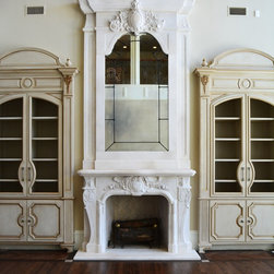 Fireplace Surrounds - The Montrousseau Mantle and Trumeau