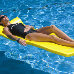 TRC Recreation - Sunsation Pool Float - Features: -Pool Float. -Everlasting pool float. -Full roll pillow designed for extra buoyancy in the head area. -Vinyl coated. -Easy to clean.