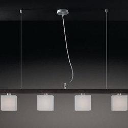 Maria 4L 12 Pendant Lamp By Modiss Lighting - Maria 4L 12 by Modiss is a modern quadruple pendant fixture.