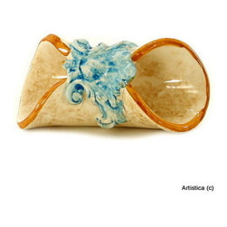 Artistica - Hand Made in Italy - Domitia: Napkin Ring - Domitia Collection: