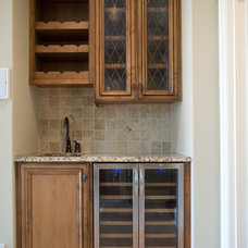 traditional wine racks by Christopher Jenkins