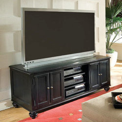 Hammary Camden-Dark 64 Inch Entertainment Center in Black