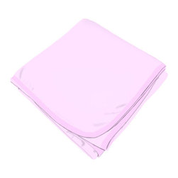 SheetWorld - SheetWorld Flannel Receiving Blanket - Solid Pink - Made in USA - Receiving Blanket is made from a double layer of the finest 100% cotton flannel material and is reversible. It's finished off with a matching cotton binding. Color is a solid pink. Perfect blanket for your perfect baby. (matching sheets available)