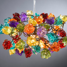 eclectic ceiling lighting by Etsy