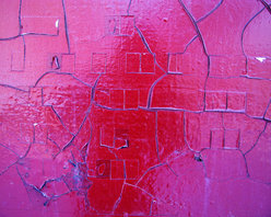 Murals Your Way - Cracked Paint Wall Art - Photographed by Gale Fitzsimmons, the Cracked Paint wall mural from Murals Your Way will add a distinctive touch to any room