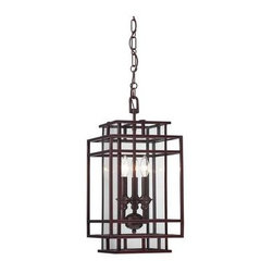 Savoy House - Cage Pendants - Brian Thomas is on trend with the introduction of Harmony, a delightful collection with open geometric shapes and a rich Mohican Bronze finish. These lanterns are tomorrow's classics, adding beauty and richness to your home for years to come.