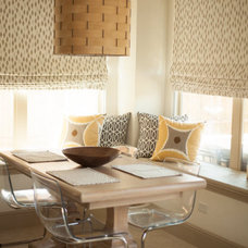 Contemporary Dining Room by Cristin Priest {Simplified Bee}