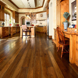"Los Altos Hills Residence - 5"" & 7"" Rustic Hickory with custom color"