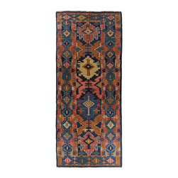 hand-woven village kilim - Vintage Kuba Kilim   Flatweave - Kilims are perhaps best described as the folk art of Turkey. The symbols and motifs used in weaving kilims are common amongst most weavers, but each tribal or regional group has their own way of interpreting those symbols. While many kilims are woven today for the commercial market, the same is not true of older kilim pieces. Until about 1975, the rug world was just not interested in kilims. Times have certainly changed! Kilims have made their way into the decor of the world, from palaces in the French countryside to the mountains of Colorado.