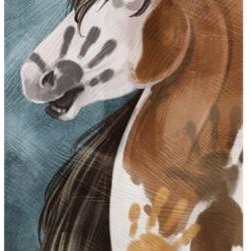 WL - 16 Inch Handprinted Horse Themed Canvas Wall Decorative - This gorgeous 16 Inch Handprinted Horse Themed Canvas Wall Decorative has the finest details and highest quality you will find anywhere! 16 Inch Handprinted Horse Themed Canvas Wall Decorative is truly remarkable.