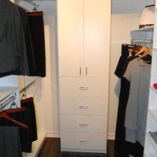 Contemporary Closet by Closets by Design Louisville