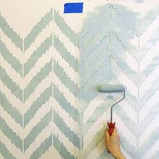 Contemporary Stencils by Janna Makaeva/Cutting Edge Stencils