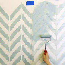 Contemporary Wall Stencils by Janna Makaeva/Cutting Edge Stencils