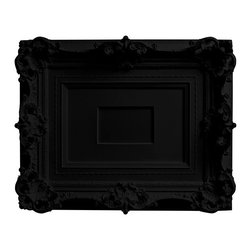 "Areaware - My Brother's Frame Black - Harry Allen - The designer, so smitten by this frame found in his brother's closet, cast it in resin for everyone to enjoy. The image size in the middle of the frame is for a 4"" x 6"" photo."