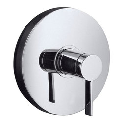 Kohler - Kohler Stillness Rite-Temp Valve Trim with Lever Handle - This polished chrome valve from Kohler features a diaphragm design that eliminates hard water spots and freeze-ups from contamination. Lead-free and sleek, this valve goes perfectly with any style bathroom.