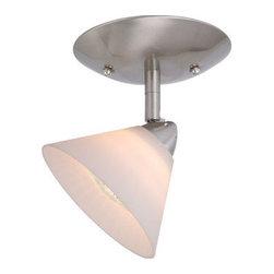 "Vaxcel Lighting - Vaxcel Lighting ML-CCD002 Milano 1 Light 5.75"" Halogen Accent Light Fully Adjust - Features:"