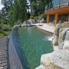 Pool by Alka Pool Construction Ltd