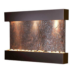 Adagio - Reflection Creek Wall Fountain - Offers The tranquility of water in motion