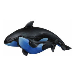 WL - 2.25 Inch Blue and Black Dolphins Dominion Salt and Pepper Shakers - This gorgeous 2.25 Inch Blue and Black Dolphins Dominion Salt and Pepper Shakers has the finest details and highest quality you will find anywhere! 2.25 Inch Blue and Black Dolphins Dominion Salt and Pepper Shakers is truly remarkable.