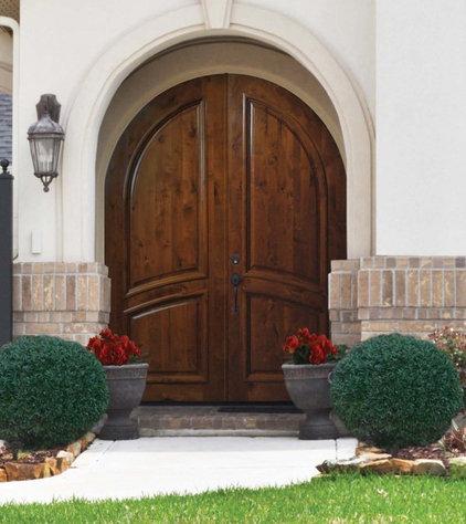 Contemporary Front Doors by US Door & More Inc