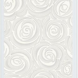 Bella Wallpaper - White/Cream, Swatch
