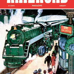 Buyenlarge - Railroad Magazine: The Limited, 1952 20x30 poster - Series: Railroad