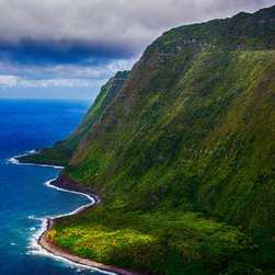 Create your style - A great view of the Maui shoreline as seen from a helicopter