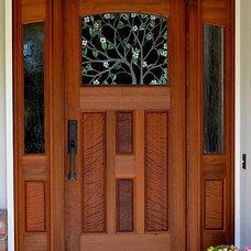 Contemporary Front Doors by MendocinoDoors.com