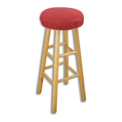 """Chooty & Co. - Circa Solid 16 in. Round Foam Bar Stool Cushion - BS16K1026 - Shop for Cushions and Pads from Hayneedle.com! About Chooty & Co.A lifelong dream of running a textile manufacturing business came to life in 2009 for Connie Garrett of Chooty & Co. This achievement was kicked off in September of '09 with the purchase of Blanket Barons well known for their imported """"soft as mink"""" baby blankets and equally alluring adult coverlets. Chooty's busy manufacturing facility located in Council Bluffs Iowa utilizes a talented team to offer the blankets in many new fashion-forward patterns and solids. They've also added hundreds of Made in the USA textile products including accent pillows table linens shower curtains duvet sets window curtains and pet beds. Chooty & Co. operates on one simple principle: """"What is best for our customer is also best for our company."""""""