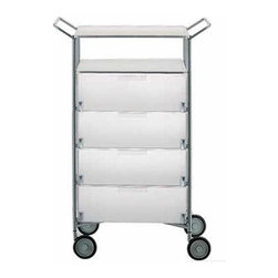 Kartell - Mobil 4 Drawer and Shelf - Mobil 4 Drawer and Shelf