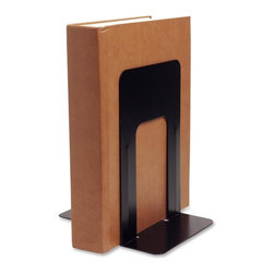 "Business Source - Business Source Book Supports with Poly Base, 9""w X 6""d X 8.5""h - Book supports are made of heavy-gauge steel with smooth edges and baked enamel finish. Nonskid poly bases will not scratch or stain surfaces. Book supports are recyclable. Books are not included."