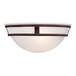 Minka-Lavery - Minka-Lavery 1-Light Wall Mount - 841-91 - This 1-Light Wall Light has a Bronze Finish and is part of the Pacifica Collection.