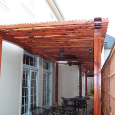 Traditional Gazebos by Texas Woodworks