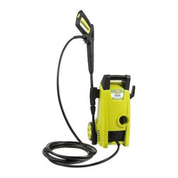 "Snow Joe - Power Washer 11.5 Amp 1450 Psi - The SPx1000 is the ultimate dirt magician.  Its lightweight design makes it easy to maneuver for a variety of tasks and boasts a 1400-Watt, 11.5 AMP motor with a 1450 Max PSI rating.  It robust motor makes quick work around your home.  A 33"" adjustable extension wand extends your reach while allowing you to go from an intense zero-degree spray to a more gentle 45-degree spray.  It is equipped with several safety features including a trigger safety lock with TSS (total stop system) and a complete on/off switch.  1.45 gallon per minute output.  Zero emission and CSA listed."
