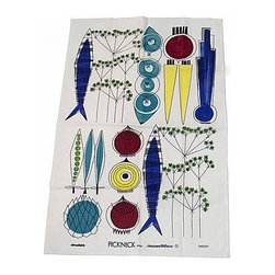 Almedahls - Almedahls Picknick Tea Towel - The tea towel is made in long-wearing quality, which stands wearing by generations and only gets more beautiful as time goes on. Machine washable.
