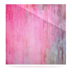 "Kess InHouse - Iris Lehnhardt ""Color Wash Pink"" Blush Paint Metal Luxe Panel (10"" x 10"") - Our luxe KESS InHouse art panels are the perfect addition to your super fab living room, dining room, bedroom or bathroom. Heck, we have customers that have them in their sunrooms. These items are the art equivalent to flat screens. They offer a bright splash of color in a sleek and elegant way. They are available in square and rectangle sizes. Comes with a shadow mount for an even sleeker finish. By infusing the dyes of the artwork directly onto specially coated metal panels, the artwork is extremely durable and will showcase the exceptional detail. Use them together to make large art installations or showcase them individually. Our KESS InHouse Art Panels will jump off your walls. We can't wait to see what our interior design savvy clients will come up with next."