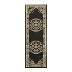 Safavieh - Safavieh Courtyard Transitional Rug X-72-8093-4192YC - Safavieh takes classic beauty outside of the home with the launch of their Courtyard Collection. Made in Belgium with enhanced polypropylene for extra durability, these rugs are suitable for anywhere inside or outside of the house. To achieve more intricate and elaborate details in the designs, Safavieh used a specially-developed sisal weave.